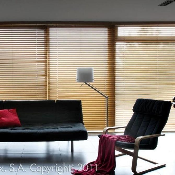 Razones por las que deberías poner unas venecianas de madera en tu vida