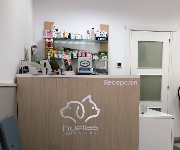 Tienda: Nuestros servicios de Huellas Centro Veterinario