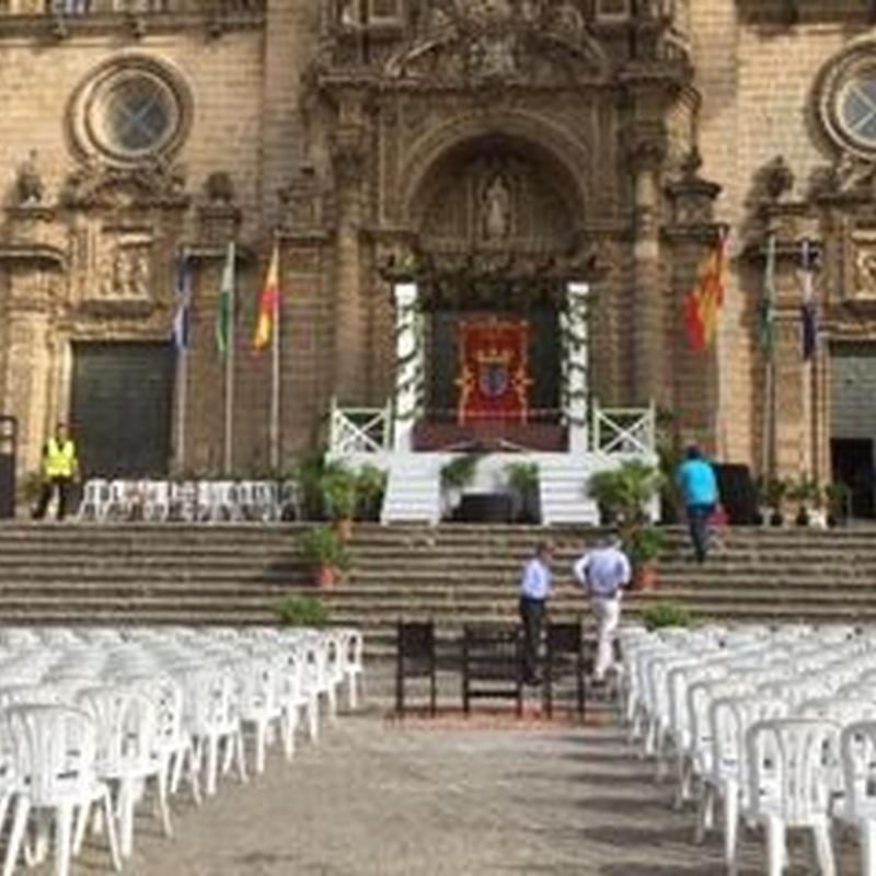 Evento en plaza mayor: Catálogo de Jedal Alquileres