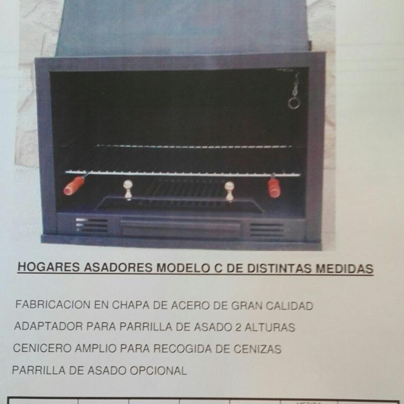 Chimeneas de leña: Servicios de Rincón Pascual
