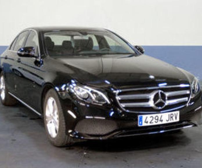 Alquiler de Mercedes Clase E