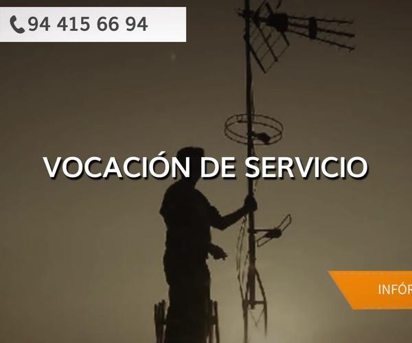 Mantenimientos de antenas en Bilbao | Antenas Ruicoa