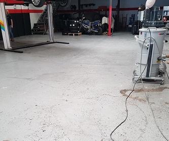 Pintado de suelo en Naves: Servicios de Pavimentos Aplifort