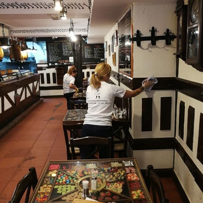 Limpieza de restaurantes: Servicios de Hermanas Autónomas