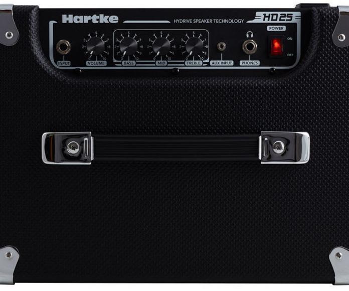 Amplificador de bajo para casa/ensayo Hartke HD25. Decibelios Playa Honda Lanzarote