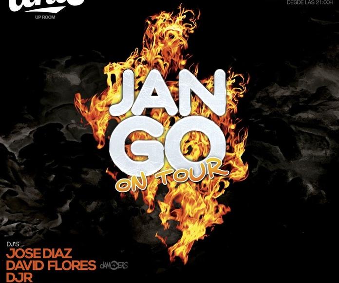 JANGO ON TOUR nit del foc en UNIC Valencia