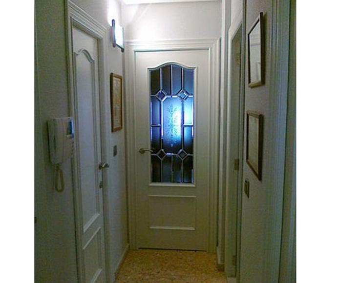 Puerta lacada en RAL 9010