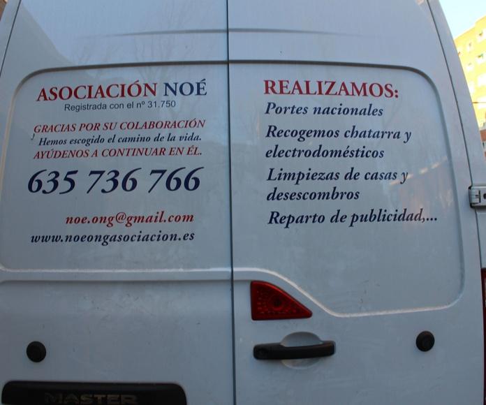 Portes: Catálogo de Asociación Noé - RASTRO MADRID - USERA