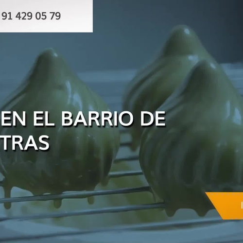 Creative pastry in Retiro, Madrid | Creative pastry Javier Ramos