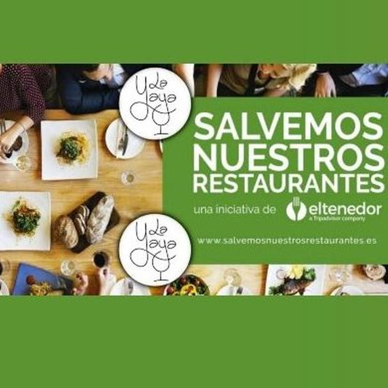 Bonos restaurantes: Carta de Restaurante La Yaya