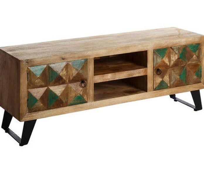 Mueble de TV en madera de mango