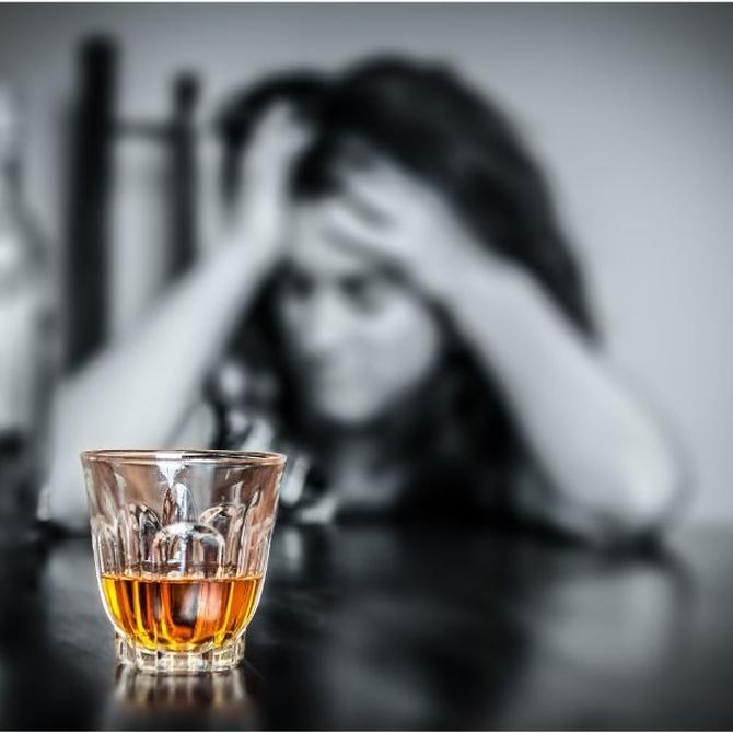 La relación entre el alcohol y la depresión