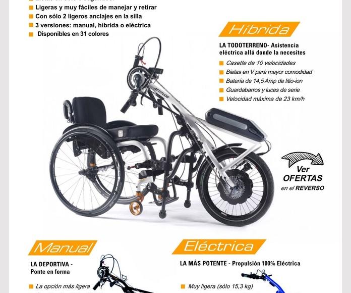 Nuevas Handbikes de Quickie