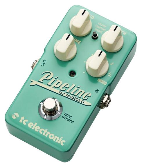 Pipeline Tremolo, sonidos Surf y Vintage en el nuevo pedal de TC Electronic