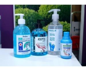 Hidrogel higienizante de manos en Zaragoza
