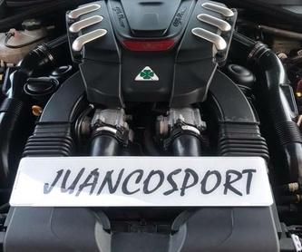 Vehículo de sustitución: Taller de Juanco Sport