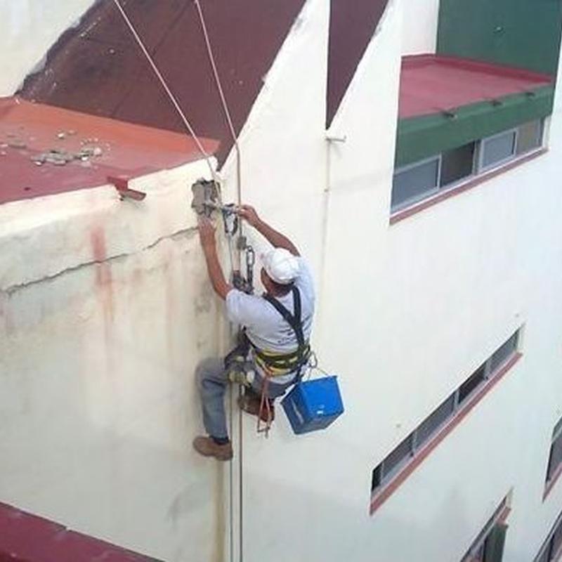 Trabajos verticales: Servicios de Tecons
