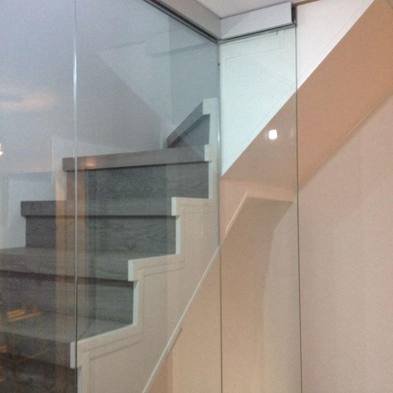 Barandillas de cristal para escaleras: Servicios de Nieto