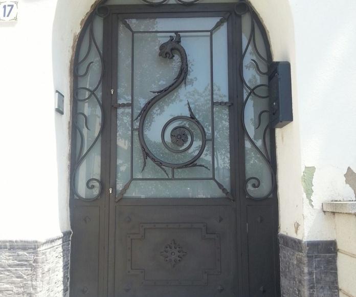 puerta de entrada | Forja Perez