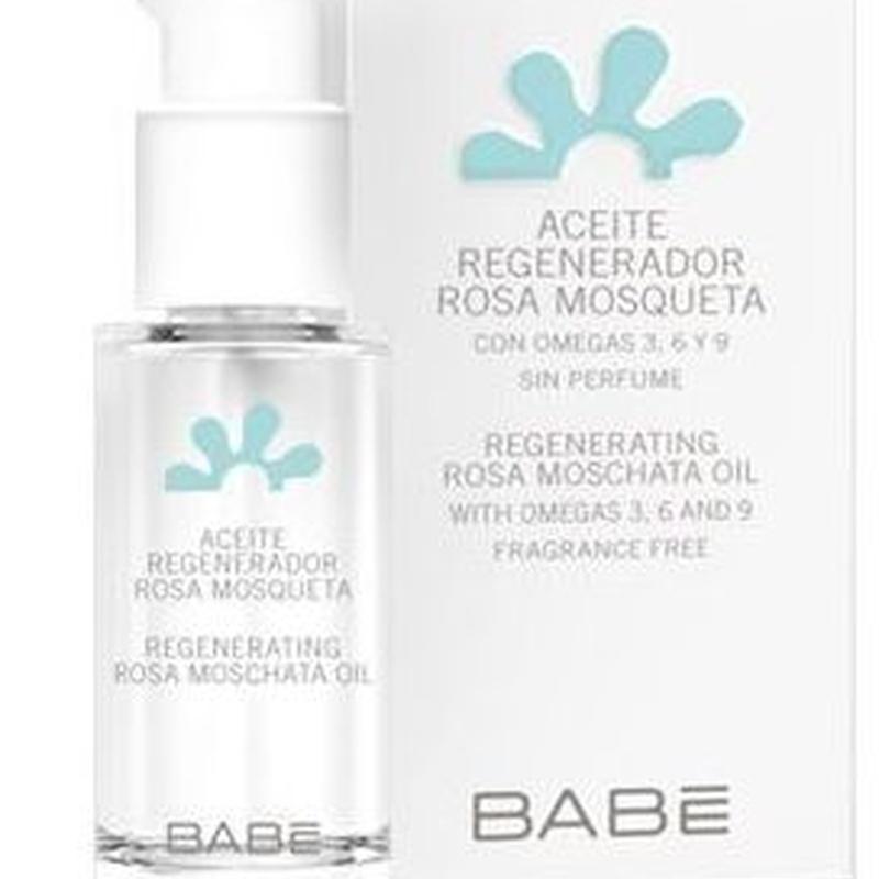 Babe Aceite Regenerador Rosa Mosqueta: Catálogo de Farmacia Las Cuevas-Mª Carmen Leyes