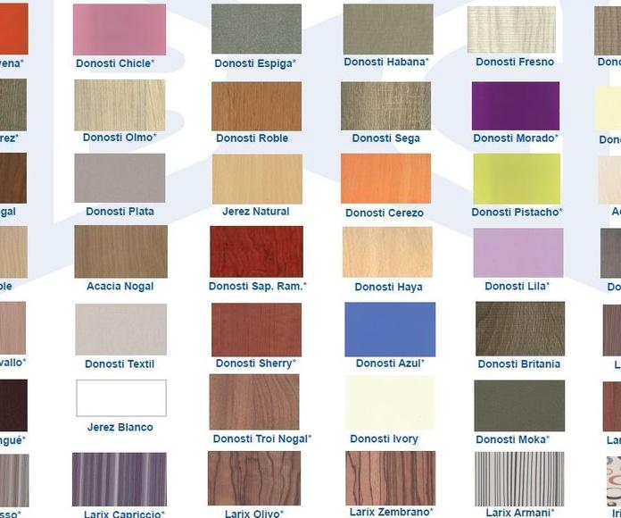 Colores cocina oferta.