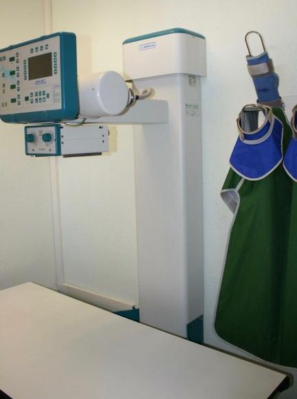 Radiologia digitalizada: Servicios de Les Fonts Veterinaria