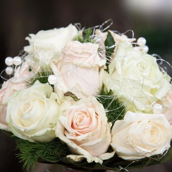 Otoño entre las flores: ramos de novia