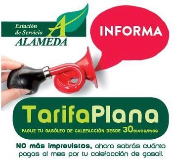 TARIFA PLANA. Pague su gasóleo de calefacción desde 30€/mes