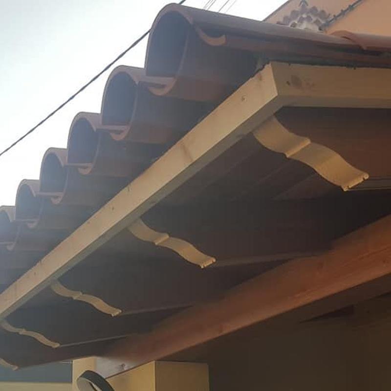 Techos de madera: Servicios de Cubiertas Victor