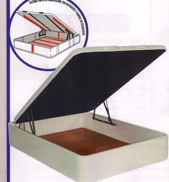 Canapé polipiel gran capacidad: Colchones Y ...... de Colchonería Moderna