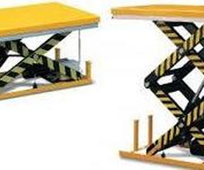 Mesas Elevadoras desde 500 kg a 4000 kg todos los tamaños Suministros, Elevadores