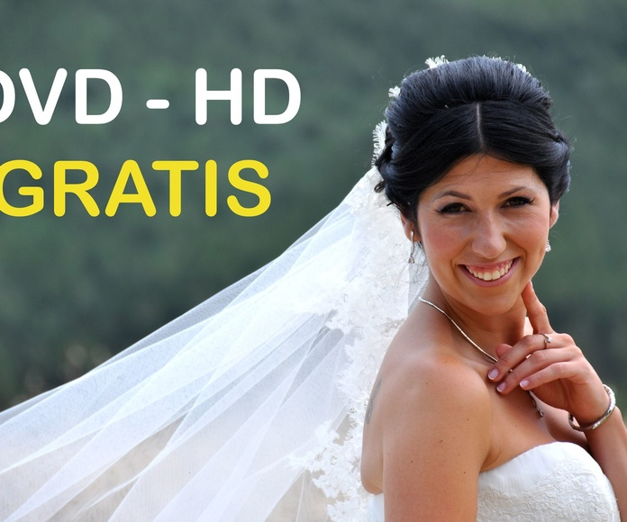 Ofertas especiales en Bodas: DVD - HD GRATIS