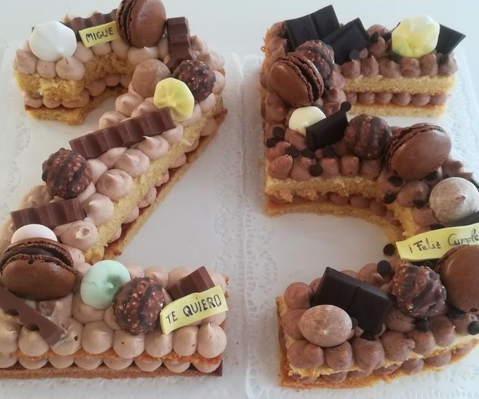 number cake 25