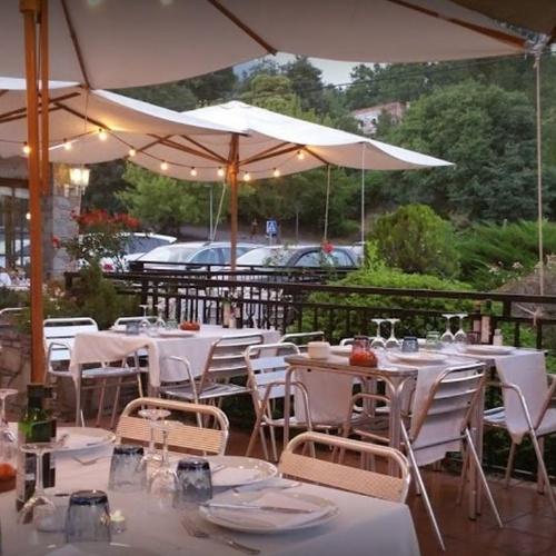 Restaurante con terraza