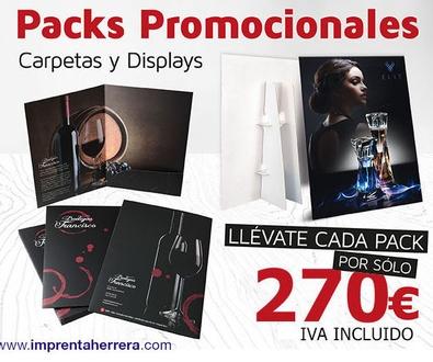 ¡Promoción Packs de Carpetas y Displays por sólo 270€!