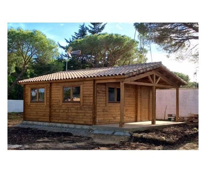 Torremolinos (48 m2): Casas de madera de 5SCC Casas de Madera