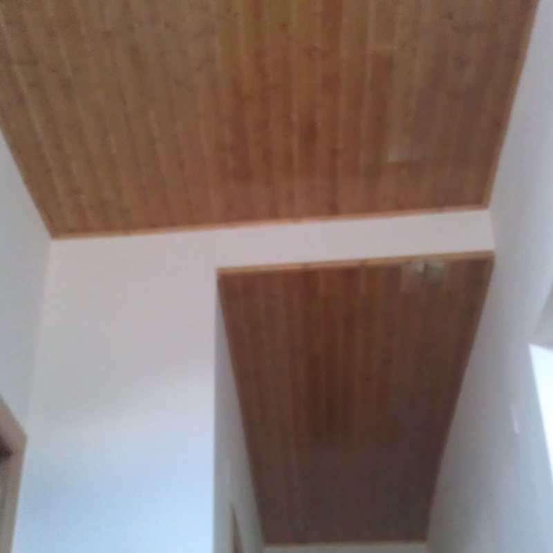Forrado techo vivienda Daroca