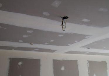Colocación de falsos techos