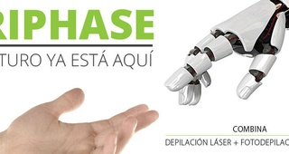 Nuevo sistema de depilación láser TRIPHASE
