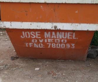 Transporte de residuos peligrosos: Servicios de Contenedores José Manuel