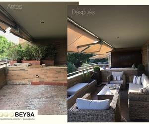 Diseño de jardines y terrazas en Majadahonda | Beysa