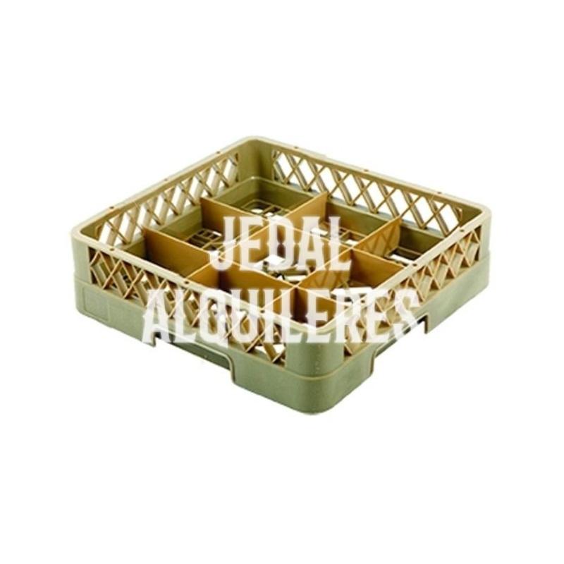 Cesta para vasos 9 compartimentos: Catálogo de Jedal Alquileres