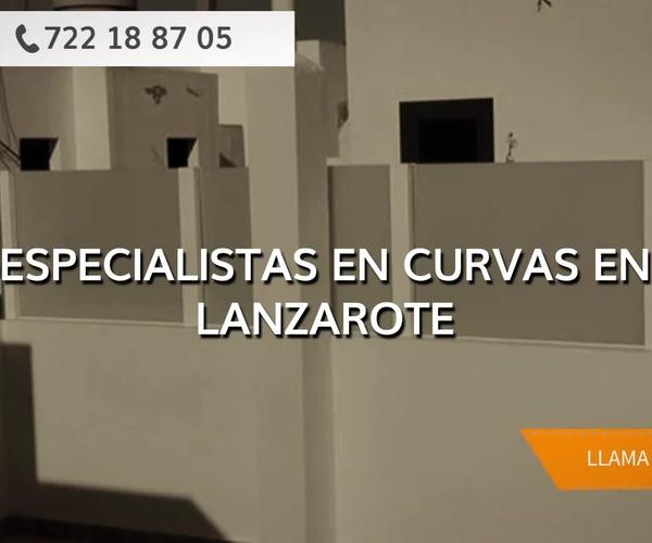 Carpintería de aluminio en Lanzarote | Curvas y Aluminios González