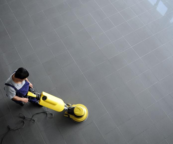 Tratamiento de suelos: Nuestros servicios de Limpiezas Moreda