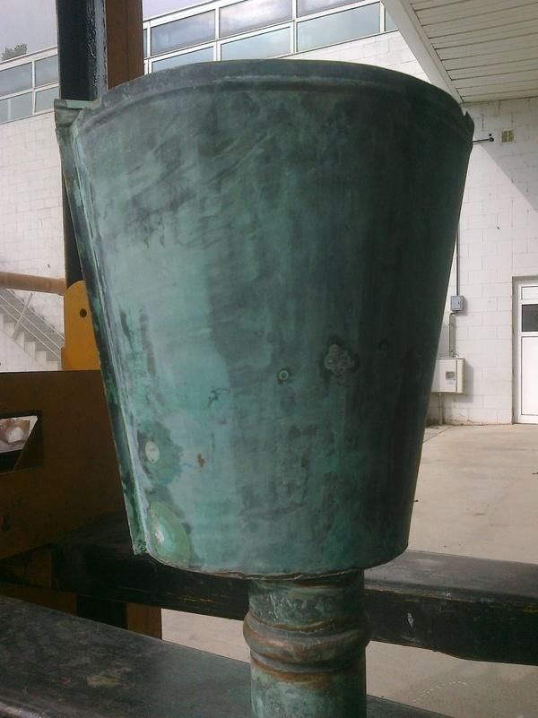 Recogedor cobre oxid.