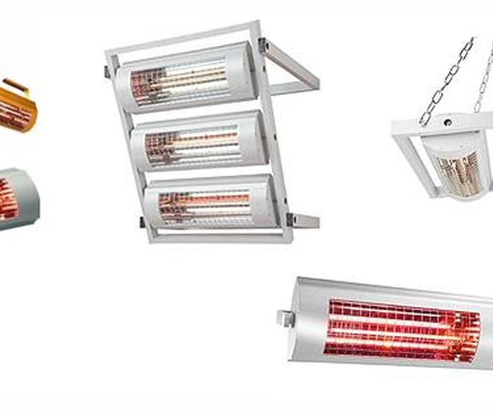 Calefactores de Infrarrojos: Productos  de Comercial Sacrida