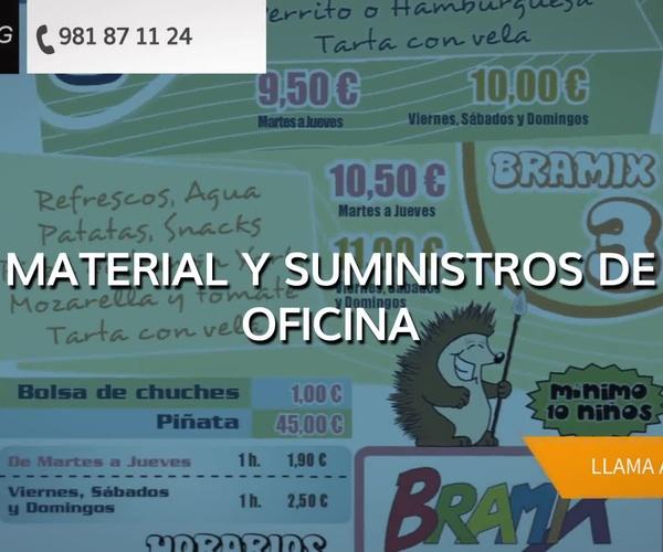 Artes gráficas en Riveira | Imprenta Sanyg