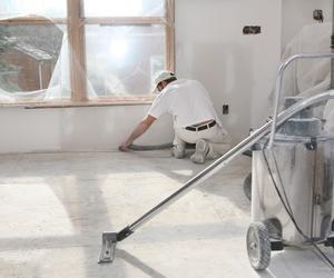 Limpiezas en obras y final de obra