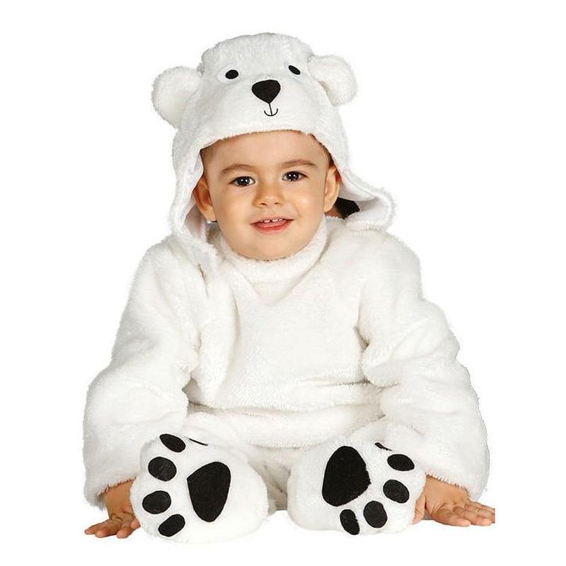 Disfraz oso polar bebé