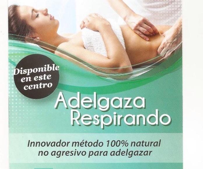 Tratamiento reductor que ayuda a eliminar las grasas a través de la respiración
